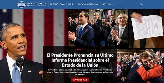 White House en Español verwijderd
