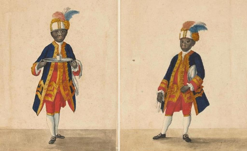 Stonden Cupido en Sideron model voor Zwarte Piet?