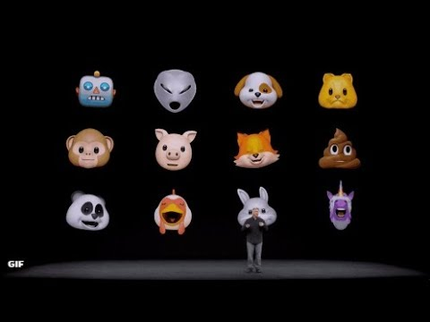 Apple lanceert Animoji