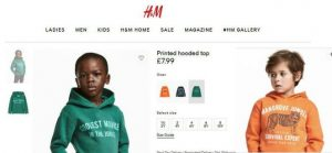 Rel om H&M advertentie