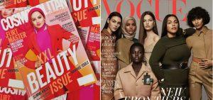 Ruba Zai en Halima Aden zorgen voor doorbraak bij Cosmo en Vogue