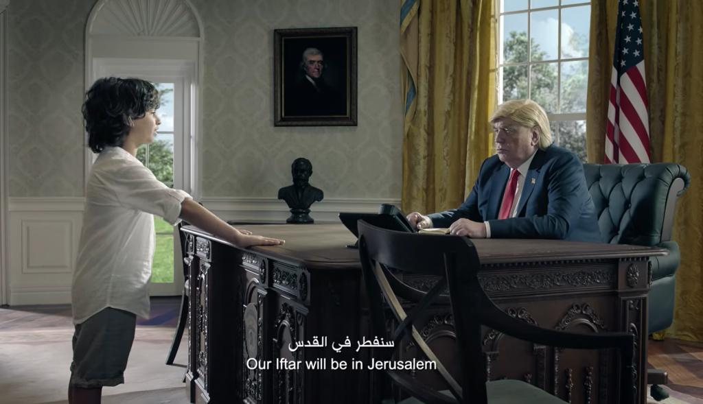 "Zain Telecom Ramadan ad 2018: ""onze iftar is in Jeruzalem"""