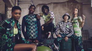 De winnaar van de '2018 FIFA World Cup Fashion Award': Nigeria