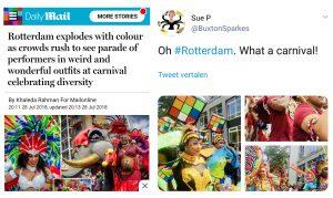Zomercarnaval Rotterdam: ondanks de voortdurende aanvallen op de multiculturele samenleving al 35 jaar lang 'going strong'