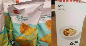 HEMA goes diversity: na roti met rijst zijn er nu chips met de smaak van Marokkaanse tajine